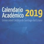 Calendario Académico 2019 de la Sede Santiago de la UCSE